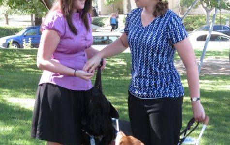 Paws help lead the way on CLU's campus