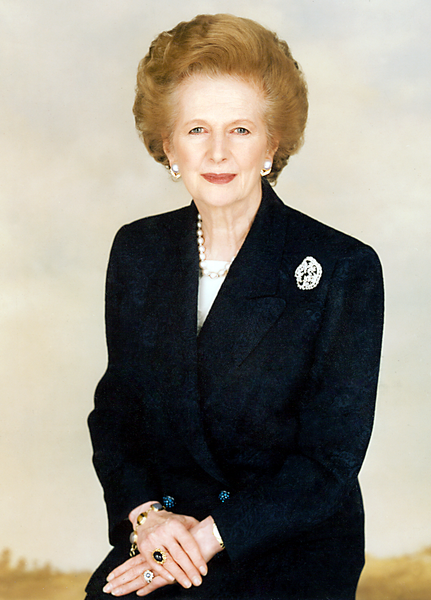 Photo courtesy of the Margaret Thatcher Foundation