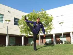 Jacob dances: Rooted in California Lutheran University. Photo by Debben Hoffer - Staff Photographer
