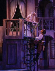 Professional theatre transforms Kingsmen Park: Romeo and Juliet take the stage