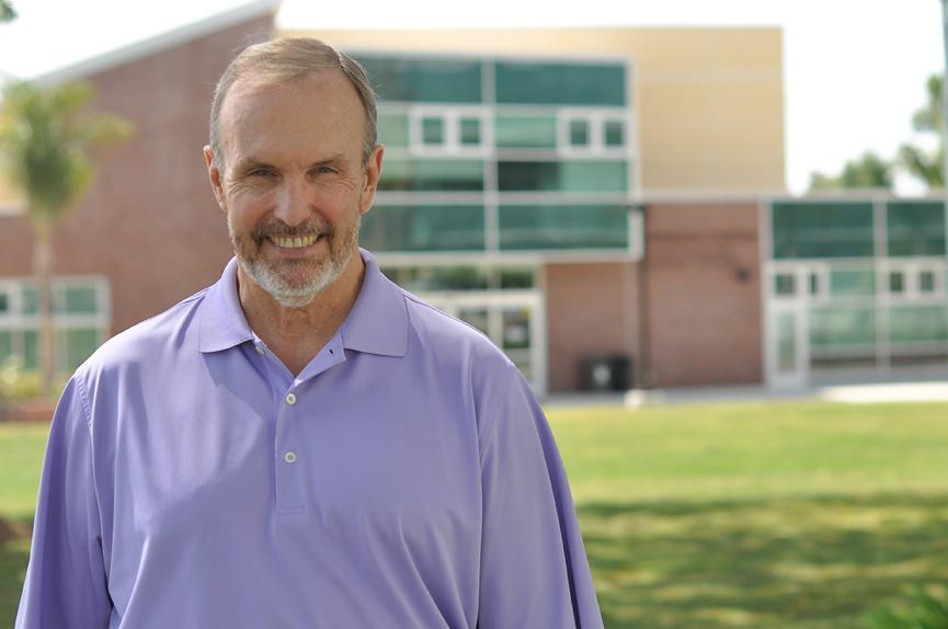 Good luck, Bill: After 17 years of employment at California Lutheran University, Vice President of Student Affairs and Dean of Students William Rosser will retire at the end of July.   Photo by Alexa Boldt- Staff Photographer
