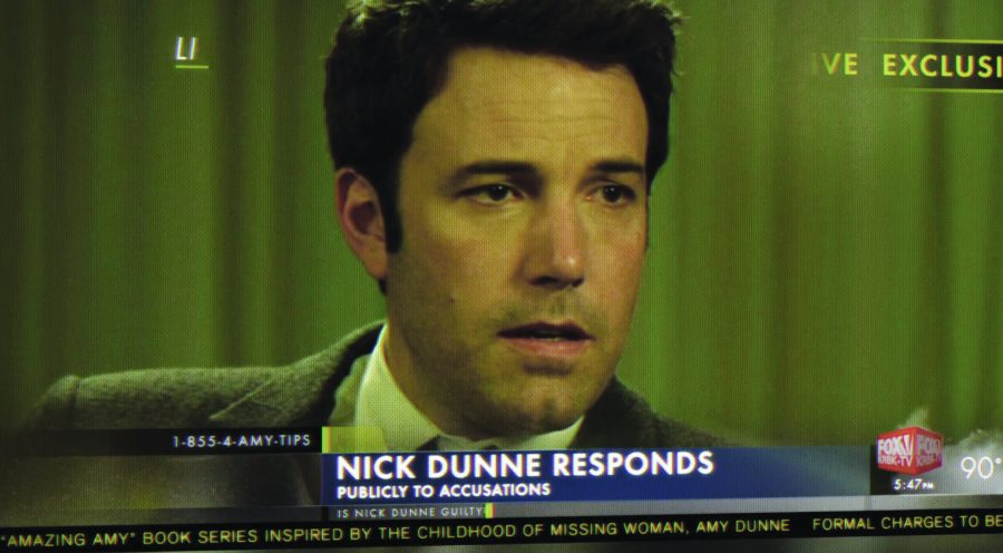 'Gone Girl': Evan gave the 149-minute film four out of five possible stars. It is now playing in theaters.  Photo courtesy of gonegirlmovie.com