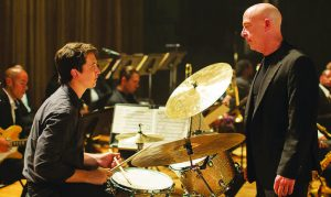 """Whiplash:"" Movie critic Evan Engel gave the 107 min. film five out of five possible stars.  Photo courtesy of Sonyclassics.com"