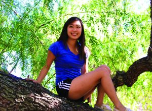 Senior Veronica Pak is helping NAMI host a walk on Saturday May 2 at the Ventura Beach Promenade. to sign up visit nami.org.