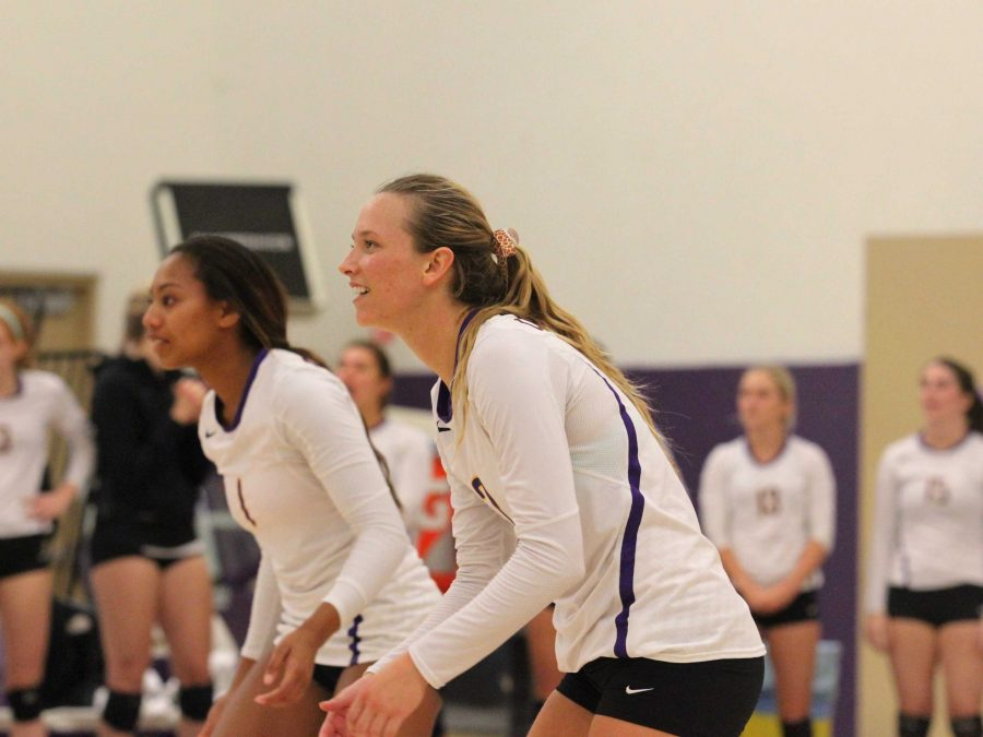 Senior outside hitter Allie Eason is a two-time All-American and three-time All-SCIAC player for the Regals volleyball team. She has been a part of three SCIAC championships in her time at CLU. Photo by Annika Stenfjord - Photo Editor