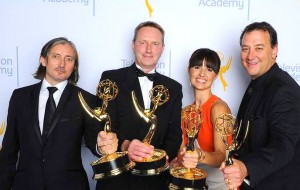 "Adjunct professor Mathew Waters won an Emmy in Outstanding Sound Mixing for the show ""Game of Thrones."" Photo courtesy of Mathew Waters"