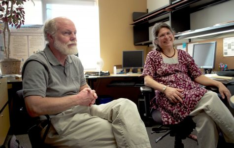 Married math professors join the CLU community for one year