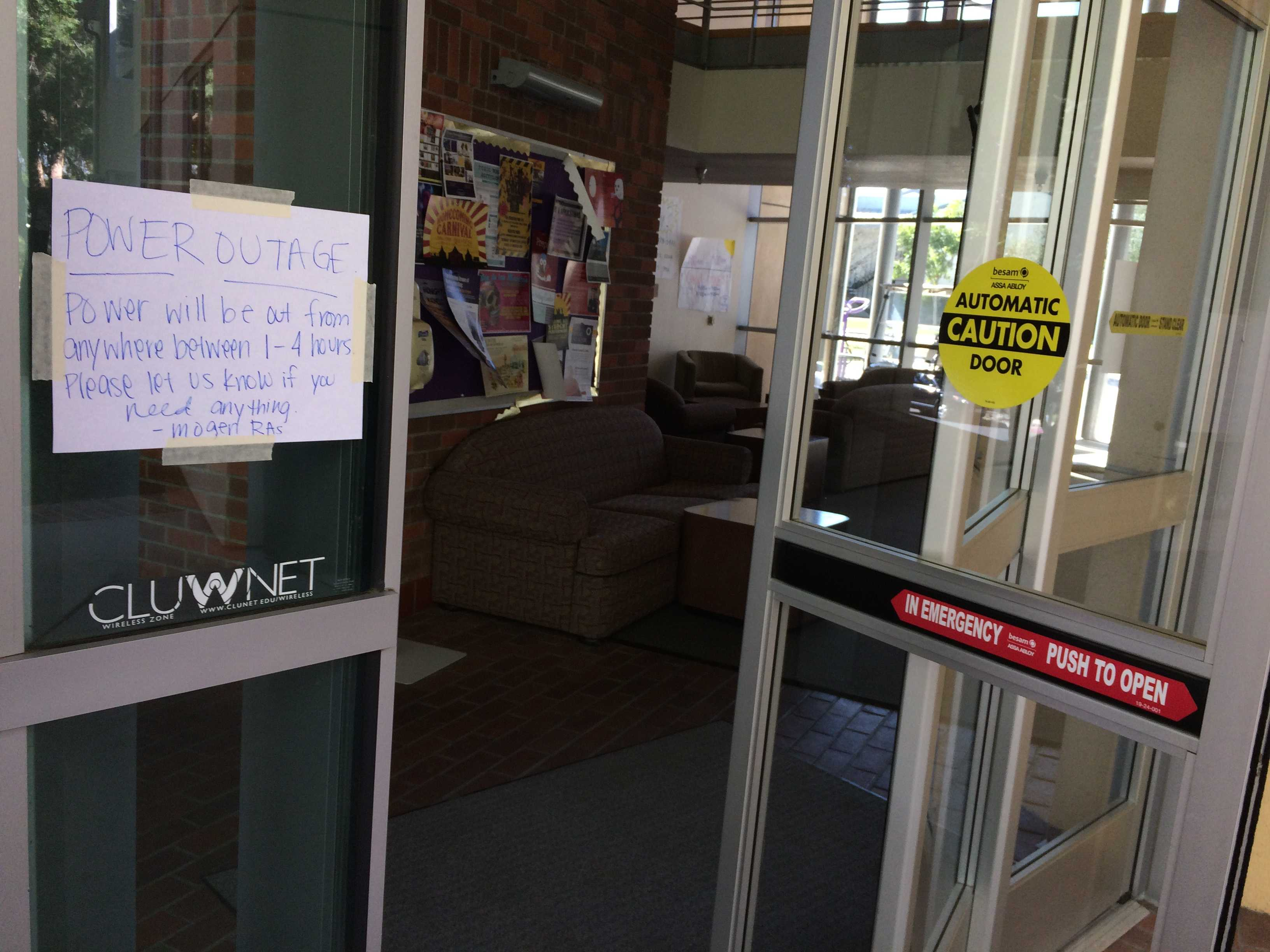 Campus-Wide Power Outage Due To BIP Testing – The Echo