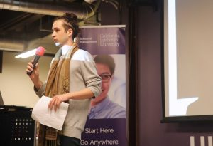 The Hub101 recently hosted Entrepreneur Cedric Gamelin to describe his new startup business and entrance into the virtual reality world.