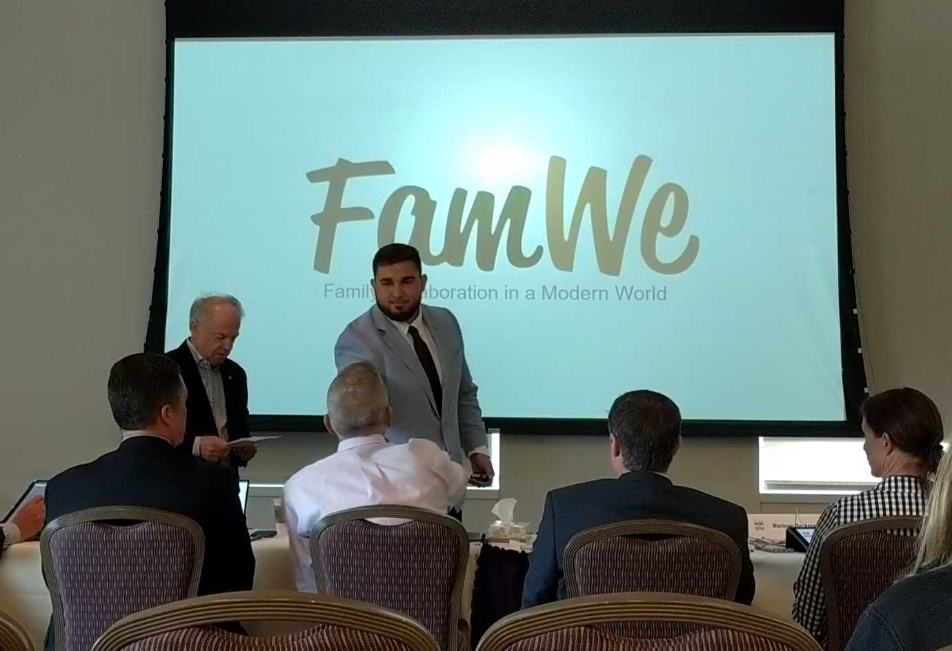 "Student Startup ""FamWe"" Enters Texas Venture Competition"