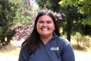 "Senate Director Candidate Kimberly Ann Lee ""Hi all! My name is Kimberly & I have served on Senate for my entire time at CLU, three years. These past three years have made me very passionate about representing the student body. I've been able to have discussions about lighting on campus and sustainable efforts on campus. If elected as Senate Director I want to continue advocating for sustainability and continue to head efforts on student voice being heard across campus."""
