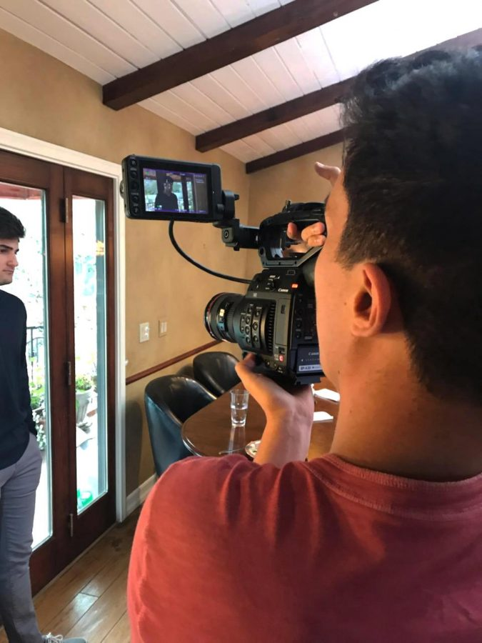 Starring roles: Each year, film and television students organize California Lutheran University's annual film festival and feature their original works that are often filmed off campus, according to a press release.  Photo provided by Charlie Biegalski