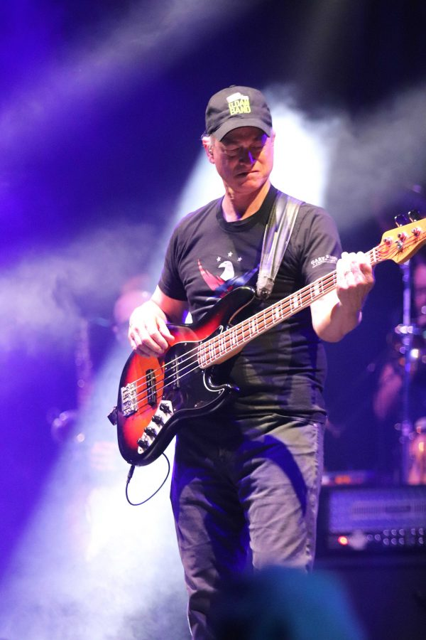 Honor, gratitude and Rock n' Roll: Since 2003, actor Gary Sinise and the Lt. Dan Band have played at 462 support concerts, according to his website. Photo by Arianna Macaluso