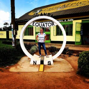"Comfortable with the uncomfortable: Senior Anna Lundsten is seen here in Uganda while studying abroad in summer 2018. ""She has helped so many people all over the world and will continue to do so throughout her life,"" said junior Emily Sharpe, a swim teammate of Lundsten.  Photo contributed by Anna Lundsten."