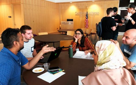 Communication Cafe for International Students at Cal Lutheran