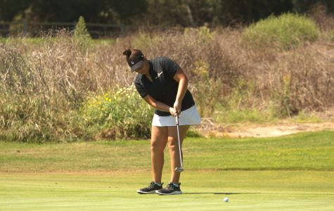 First-year Claire Cornejo set a new program record at the California State Intercollegiate tournament on Sept. 16 and 17.