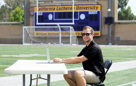 Sports Information Hires Cal Lutheran Alum Jeff Rebello