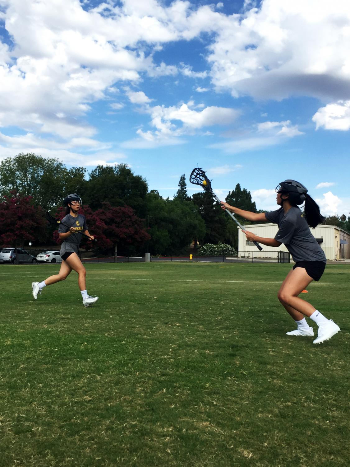 The Regals practice for their upcoming Southern California Intercollegiate Athletic Conference season this spring.