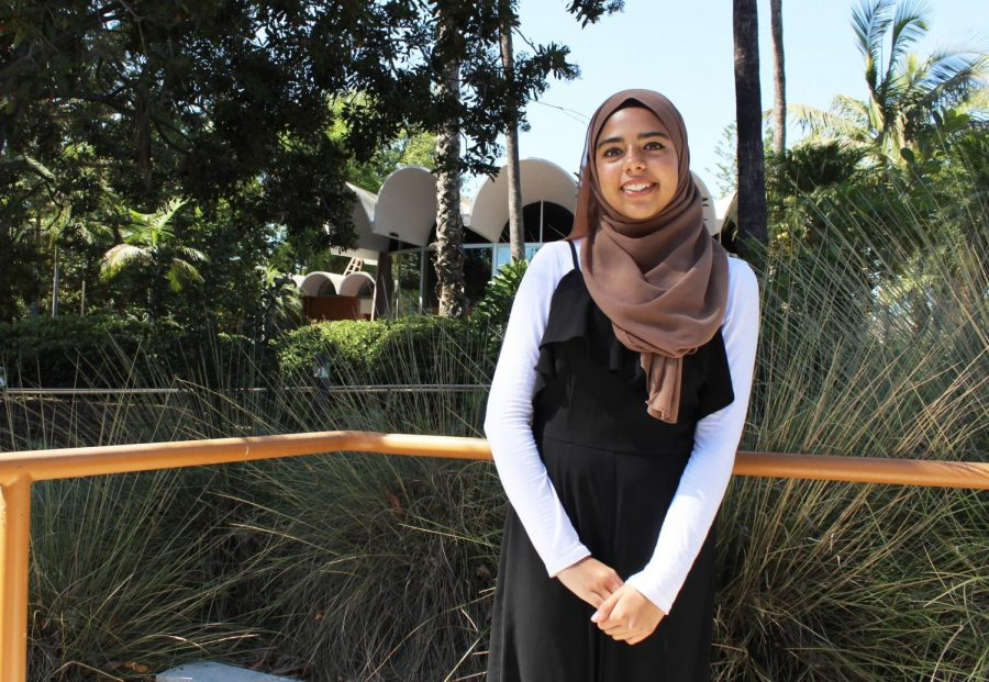 Senior+Sana+Shah%3A+In+her+years+at+Cal+Lutheran%2C+Shah+has+founded+the+Muslim+Students+Alliance+club%2C+researched+pesticide+exposure+and+taken+part+in+many+campus+organizations.