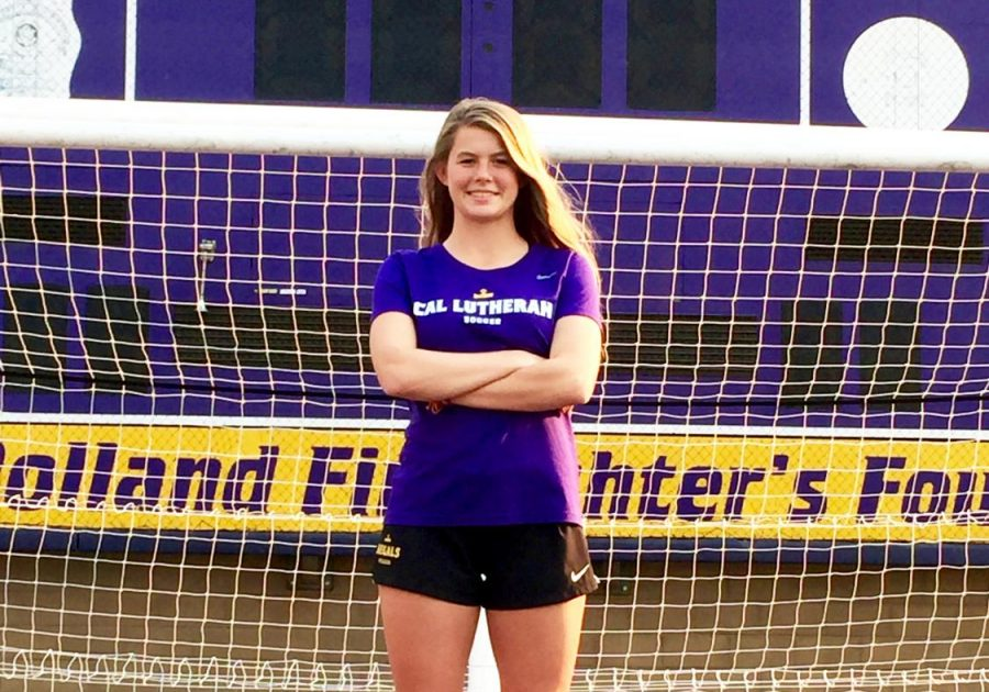 Alexandra Fagerberg Finds Home on Cal Lutheran Soccer Field