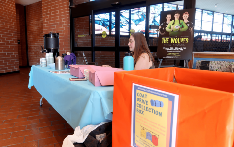 Coat drive struggled to get students attention