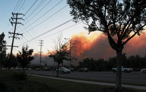 Fire season arrives at California Lutheran University