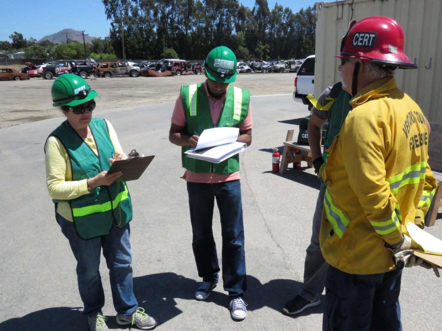 The Ventura County Fire Department has been training residents for 10 years to help prepare them for disasters through the CERT program. For more information about the program visit vcfd.org/cert
