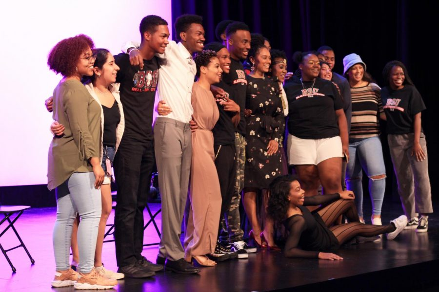 The cast of BSU's original production