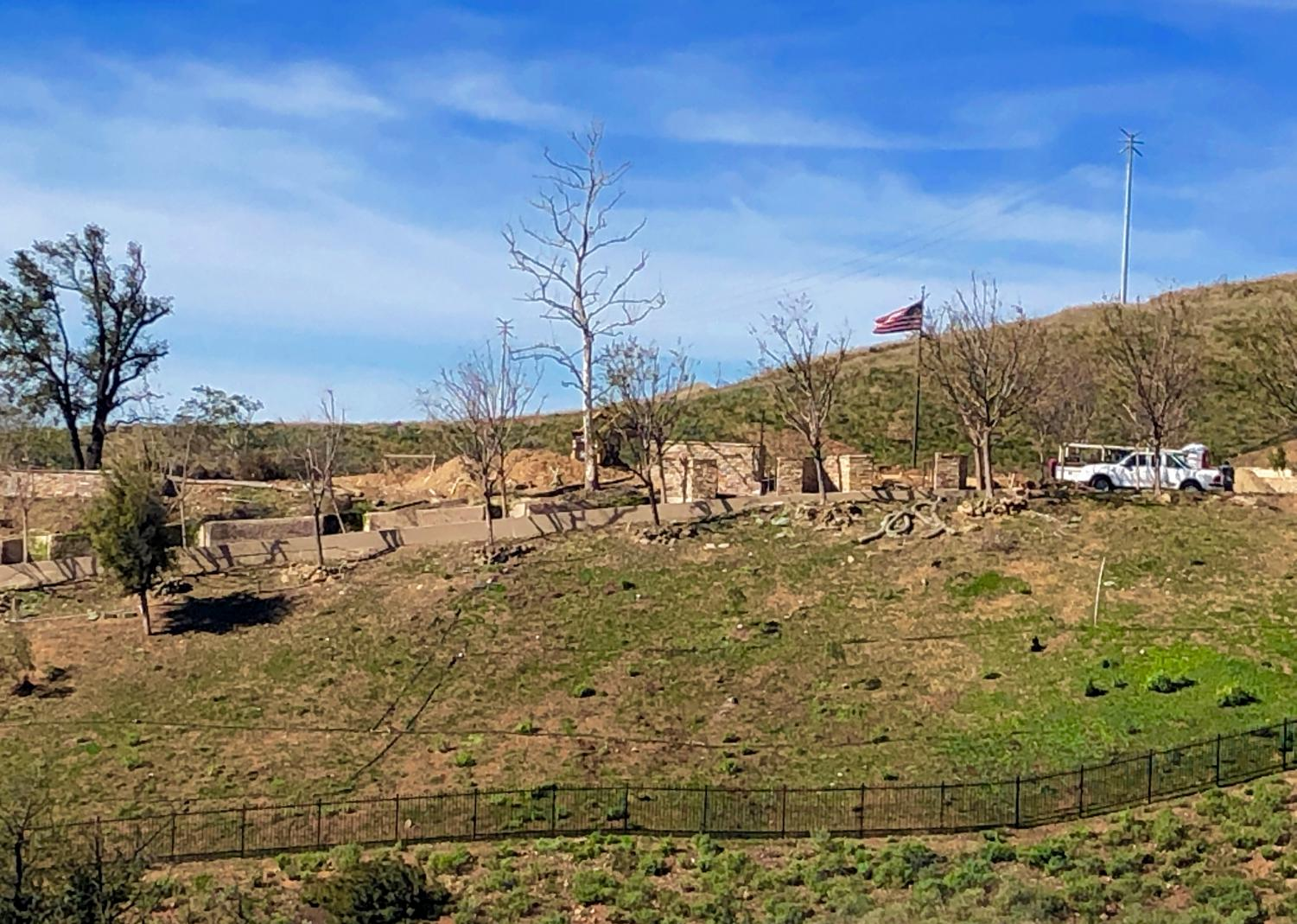 Rising from the ashes: The North Ranch community begins rebuilding process after the Woolsey Fire.