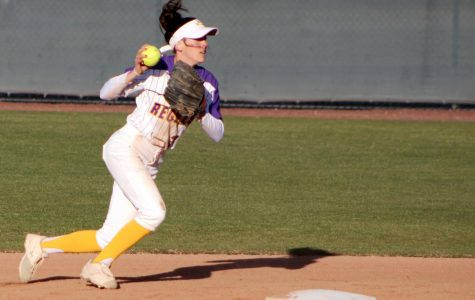 Regals Softball Play Double-Header in Home Opener Against Pioneers