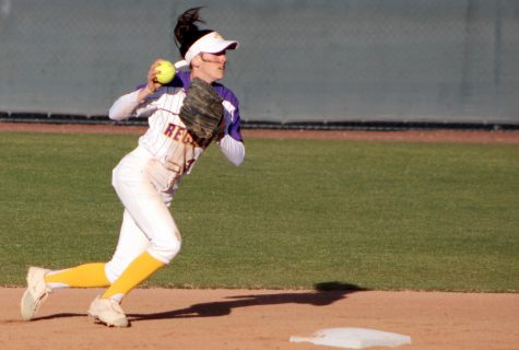 Regals Softball Falls to Panthers After 15 Innings