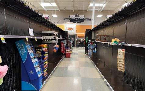 Photo story: COVID-19 wipes out stores' inventory