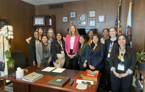 Cal Lutheran students meet with state senators to defend the Cal Grant