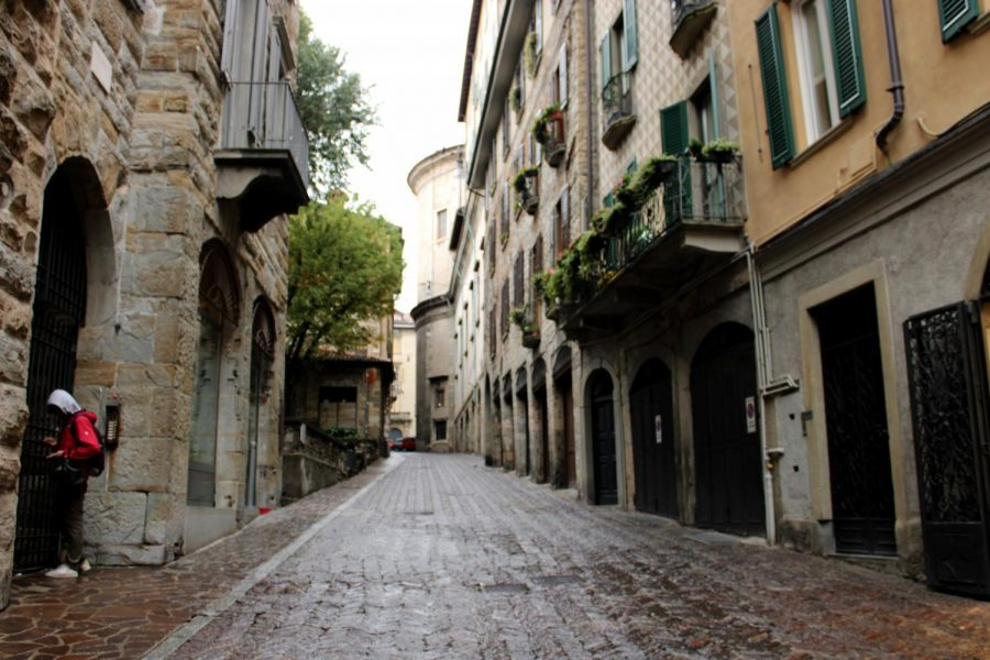 Bergamo, a city in the Lombardy region of Italy has seen a death rate of 5-6 times the average during the COVID-19 pandemic.