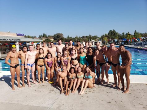 The Regals and Kingsmen Swimming and Diving team at practice pre-COVID-19.