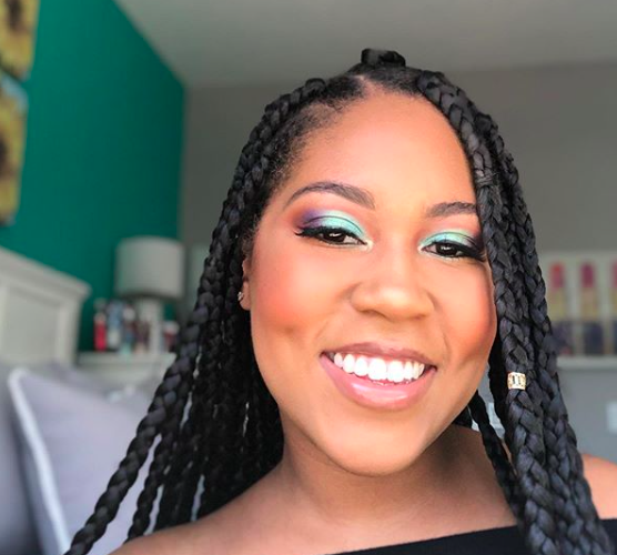 Inclusive makeup: Aliyah Wimbish, Cal Lutheran class of 2019, said her makeup line Beauty Mag Cosmetics will be compatible will all skin types.