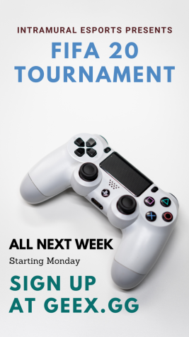 Esports Tournament to kick off Sept 21 with Fifa 20.