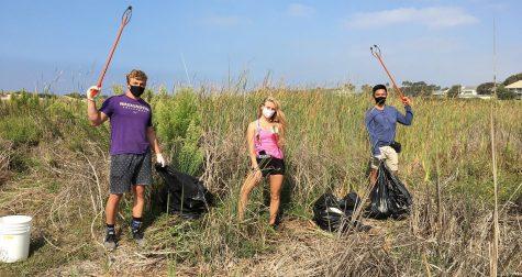 Over 1,800 lbs of trash were picked up from Ventura County beaches through the month of September in part of Coastal Cleanup Day.