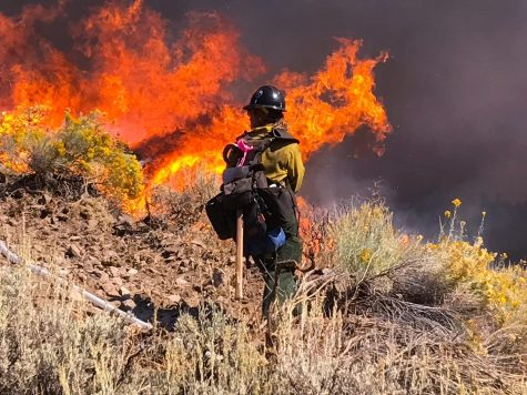 Former California Lutheran University Track and Field runner Maddie Montero fighting California wildfires.