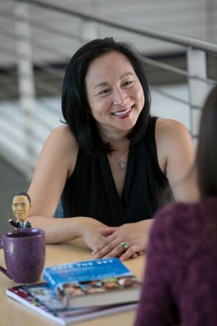 Haco Hoang, chair of the Political Science Department is conducting research regarding the efficacy of Title IX procedures at Cal Lutheran thanks to a $1,000 #MeTooPoliSci grant.