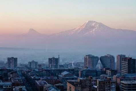 Yerevan City, Armenia