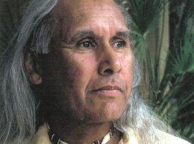 Alan Salazar, is a tribal elder of the elder with the Fernandeno Tataviam Band of Mission Indians said Indigenous Peoples Day is an important time to engage with stories and learn more about America