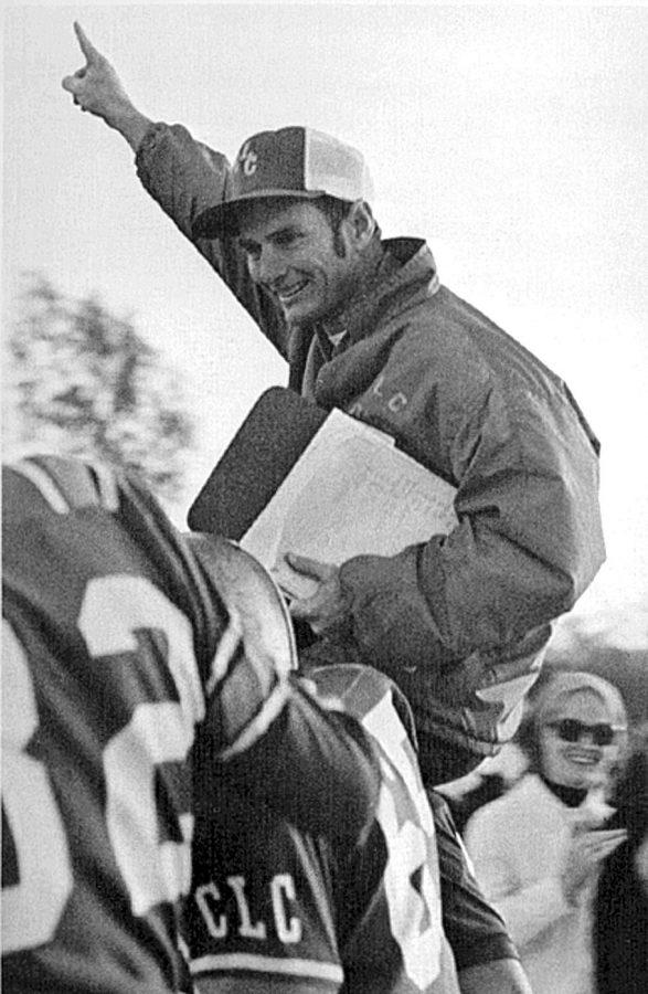 Robert Shoup leads CLC football team to '71 NAIA championship.