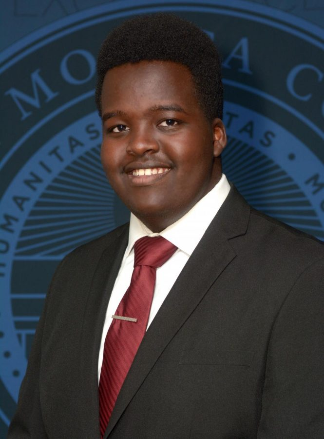 Landry Irumva, Cal Lutheran junior, was named as one of Cal Lutheran's inaugural Community Scholars for Black Lives.