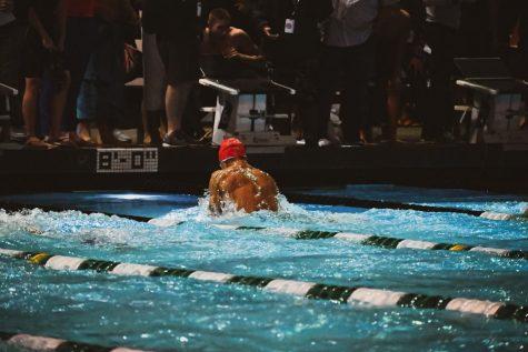 California Lutheran University Kingsmen swimmer, Luke Rodarte swims his way into the Olympic Trials.