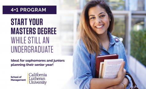 4+1 graduate programs at Cal Lutheran grant students a head start on their career paths