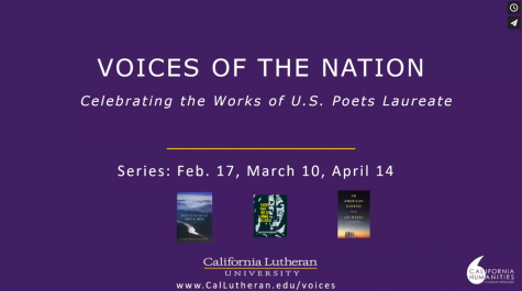 The Voices of the Nation Poetry series is hosted by English professor, Jacqueline Lyons. She hopes the seres will educate students on the various voices poets have across the nation.
