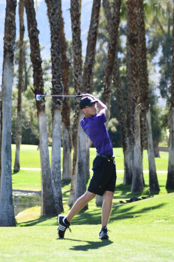 California+Lutheran+University+sophomore+and+Kingsmen+golfer%2C+Derek+Hahn+is+one+of+the+lowest+scoring+golfers+on+the+team%2C+contributing+to+his+recent+second+place+win.