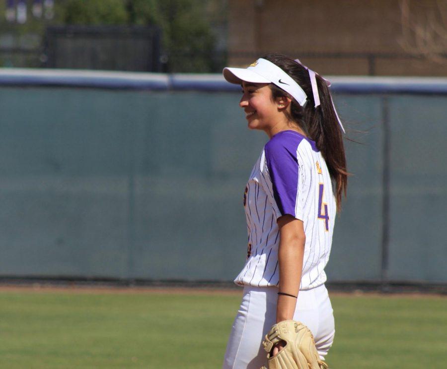 Sienna Perez dijo que es genial que estén dando una oportunidad a los estudiantes atletas…otro año de elegibilidad.