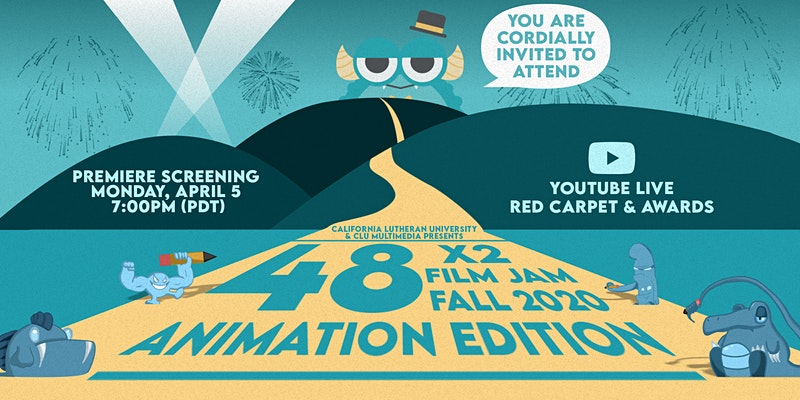 This years Film Jam was doubled for a total of 96 hours. Participants created animated films that will be showcased at 7 p.m. on YouTube.